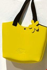 Τσάντα παραλίας Lady Etna κίτρινη
