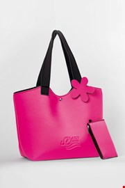Τσάντα παραλίας Lady Etna ροζ