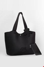 Τσάντα παραλίας Lady Etna μαύρη