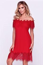 Γυναικείο κομψό νυχτικό Sevilla κόκκινο