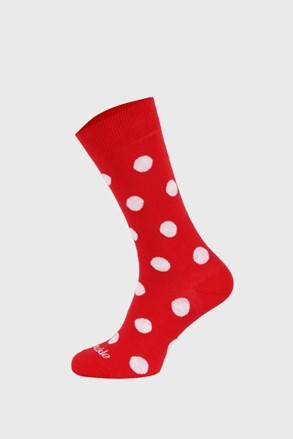 Κάλτσες Fusakle πουά κόκκινες