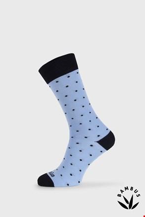 Επίσημες κάλτσες Fusakle Gentleman γαλάζιες