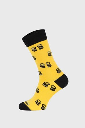 Κάλτσες Fusakle Cheers κίτρινες