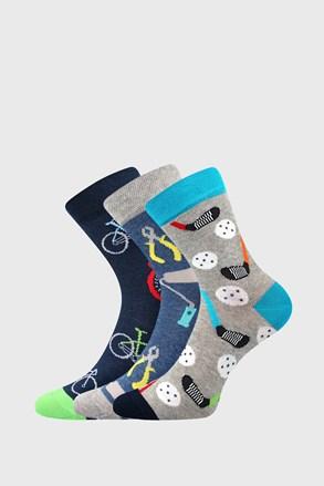 3 PACK κάλτσες για αγόρια Freetime