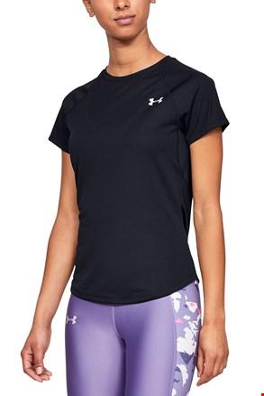 Μαύρο αθλητικό μπλουζάκι Under Armour Speed