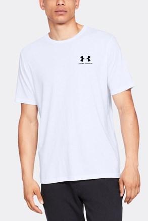 Κοντομάνικη μπλούζα Under Armour Sportstyle λευκή