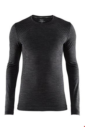 Ανδρικό μπλουζάκι Craft Fuseknit Comfort σκ. γκρι