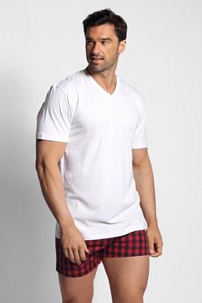 ΣΕΤ πυτζάμας από μπλουζάκι με καρό σορτσάκι