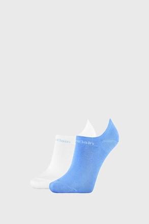 2 PACK γυναικείες κάλτσες Calvin Klein Leanne μπλε / λευκό