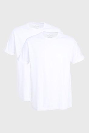 2 PACK λευκό μπλουζάκι Tom Tailor