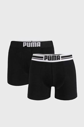 2 PACK μαύρα μποξεράκια Puma Placed Logo