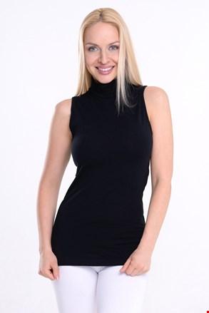 Γυναικεία αμάνικη μπλούζα Lupetto με ζιβάγκο
