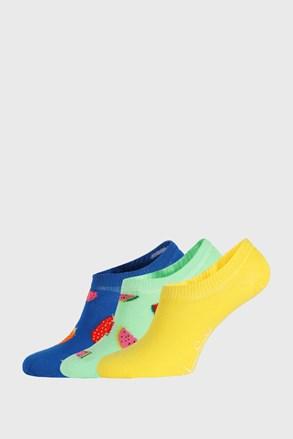 3 PACK κάλτσες Happy Socks Fruits No Show