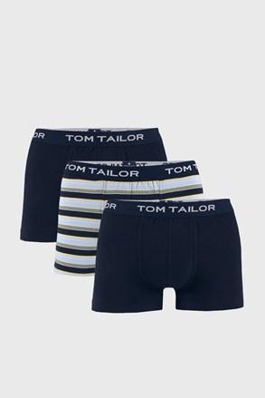 3 PACK μπλε μποξεράκι Tom Tailor Elastic