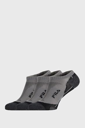 3 PACK γκρι κάλτσες FILA Invisible