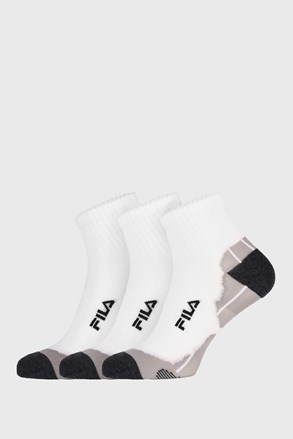 3 PACK άσπρες κάλτσες FILA Multisport