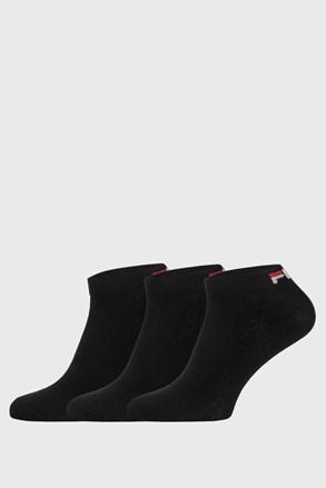 3 PACK μαύρες χαμηλές κάλτσες FILA