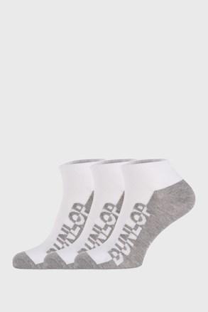 3 PACK λευκές κάλτσες Dunlop