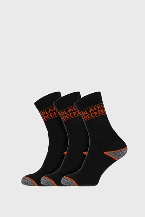 3 PACK κάλτσες εργασίας Black and Decker