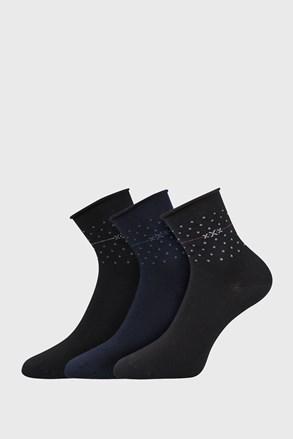 3 PACK γυναικείες κάλτσες Flowi
