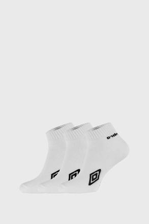 3 PACK λευκές κάλτσες μέχρι τον αστράγαλο Umbro