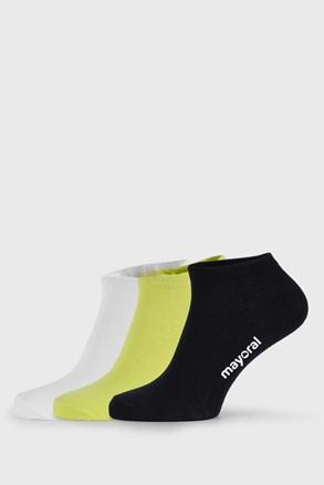 3 PACK παιδικές κάλτσες Mayoral John κοντές