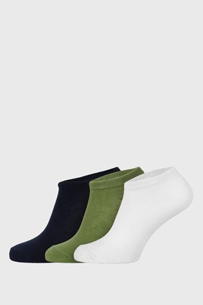 3 PACK παιδικές χαμηλές κάλτσες Jungle