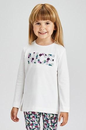 Μπλουζάκι για κορίτσια μακρυμάνικο Mayoral Nice
