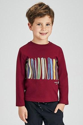 Μπλούζα για αγόρια με μακριά μανίκια Mayoral Coloring