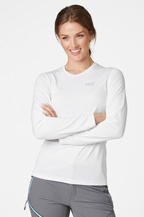 Γυναικείο λευκό λειτουργικό μπλουζάκι Helly Hansen Lifa Active