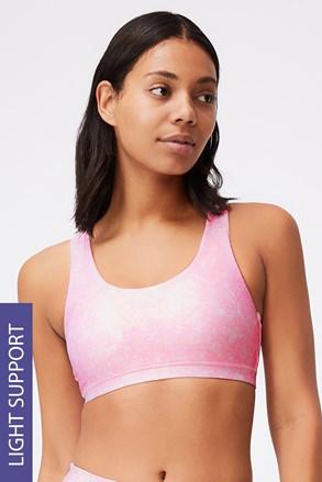 Αθλητικό σουτιέν Strappy ροζ