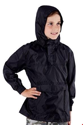 Παιδικό μπουφάν τσέπης ProClimalite μαύρο αδιάβροχο