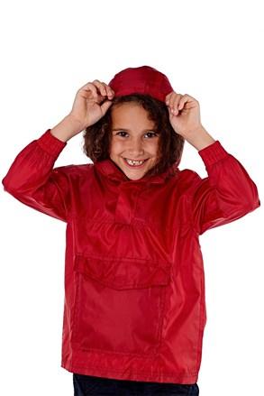 Παιδικό μπουφάν τσέπης ProClimalite κόκκινο αδιάβροχο