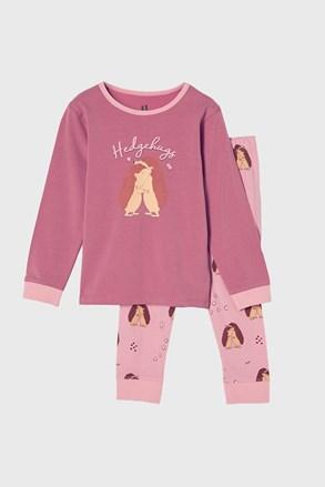 Πιτζάμα για κορίτσια Hedgehog hugs