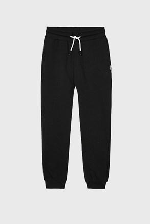 Παντελόνι φόρμας για αγόρια Vinyl μαύρο