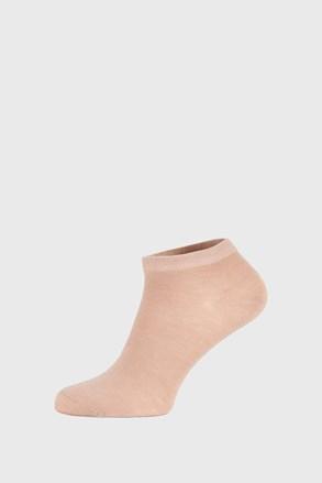 Μπεζ μπαμπού κάλτσες χαμηλές