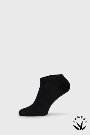 Μαύρες κάλτσες μπαμπού χαμηλές