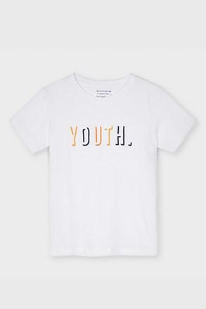 Μπλούζα για αγόρια Mayoral Youth λευκή