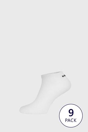 9 PACK λευκές κάλτσες μέχρι τον αστράγαλο Umbro