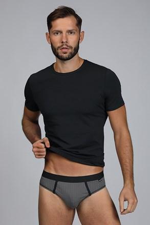 Ανδρικό SET μπλουζάκι και σλιπ Dandy μαύρο