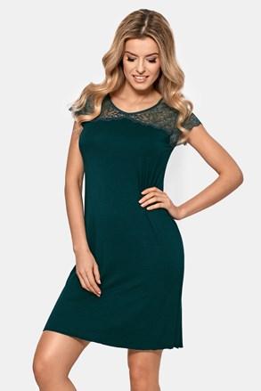 Γυναικείο νυχτικό Anastasia σκούρο πράσινο