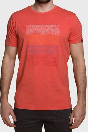 Κοντομάνικη μπλούζα LOAP Boelf κόκκινη