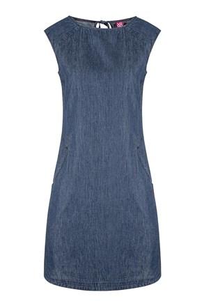 Γυναικείο μπλε αθλητικό φόρεμα LOAP Nency