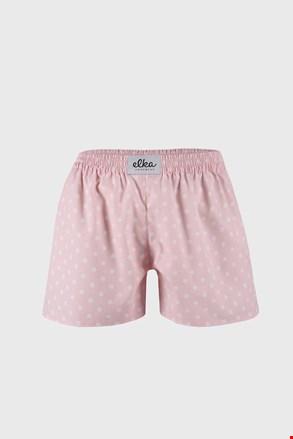 Γυναικείο ροζ μποξεράκι ELKA LOUNGE πουά