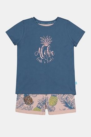 Πιτζάμα για κορίτσια Aloha Pineapple