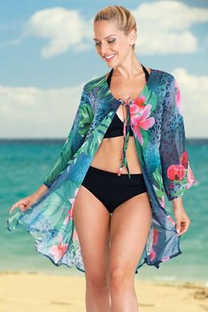 Γυναικείο φόρεμα παραλίας Tropical Flower