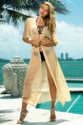Φόρεμα παραλίας Glamour gold