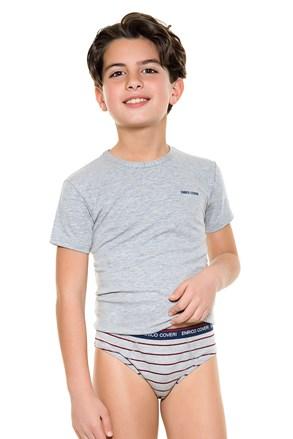 Σετ για αγόρια από σλιπ με μπλουζάκι E. Coveri 4086