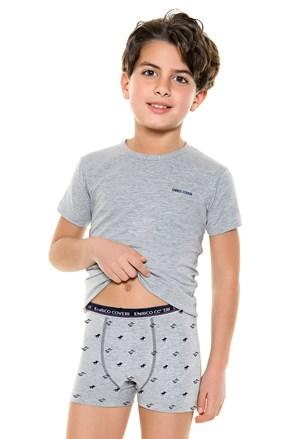 Σετ για αγόρια από μποξεράκι με μπλουζάκι E. Coveri 4087