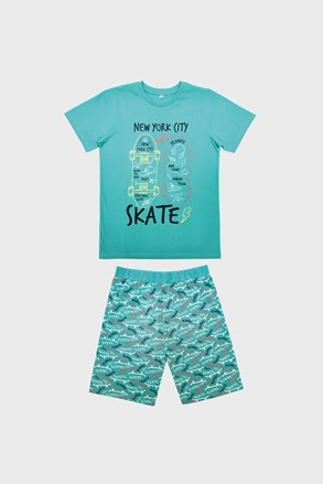 Πιτζάμα για αγόρια Skate μπλε ανοιχτό
